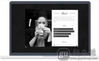 [特效级别]3D翻转书特效的WordPress图片企业主题