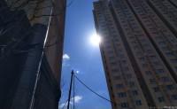 北京中午的太阳-平西府地铁站