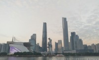 2016年10月份末前往《广州塔》,对就是这个高塔