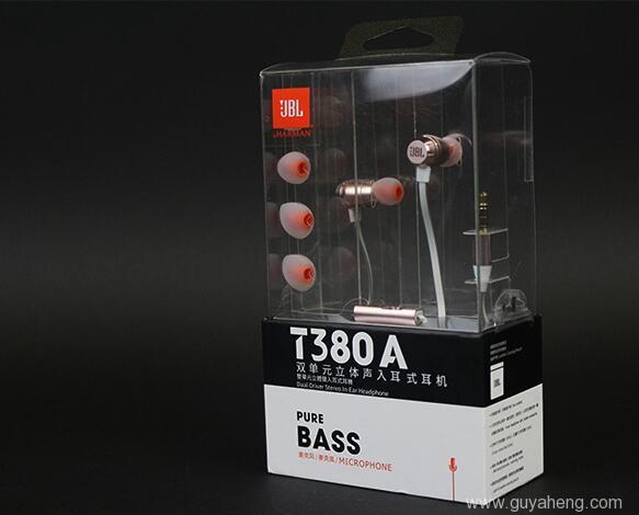 《双动圈设计JBL T380A入耳式耳机测评》