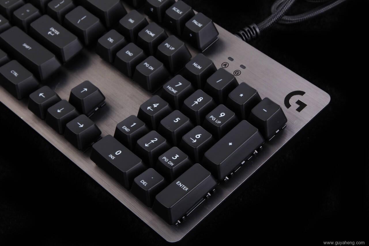 罗技G413机械键盘外观一赏