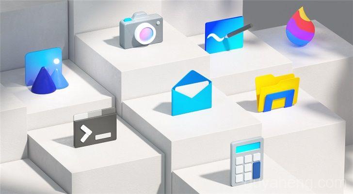 《微软就宣布Windows 10设备的新现代流畅设计图标》